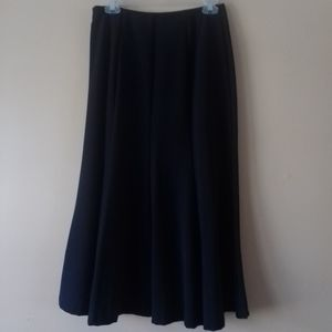 East 5th size 6p dark navy blue a-line skirt